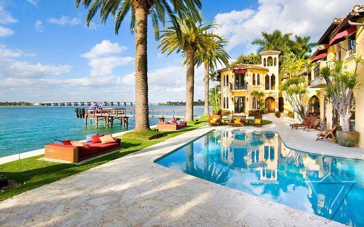 Mejores 223 imágenes de Miami Villas en Pinterest | Villa de lujo ...