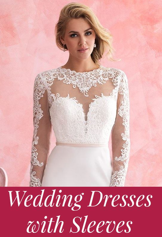 Wedding dresses with sleeves for 2015!