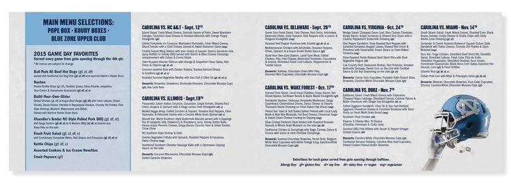 Check out this Brochure design. #graphic #design #brochure #unc #carolina #football #RamsClub #tar #heel