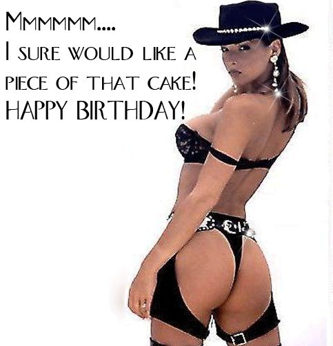 happy birthday with sexy women