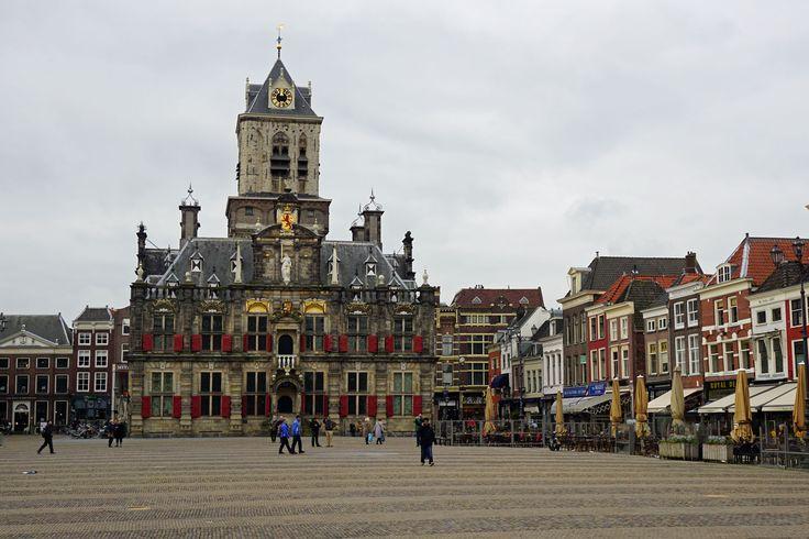 #Delft - einen Tagesausflug wert.