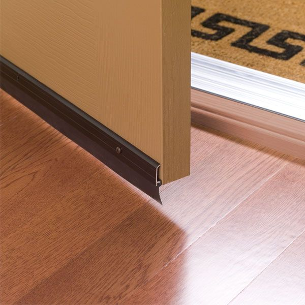 Duck® Brand Self-Adhesive Door Bottom Seals provide a simple solution to blocking drafts and preventing insects water dust and debris from invading your ... & 10 best Home Weatherization images on Pinterest | Duck tape Duct ...