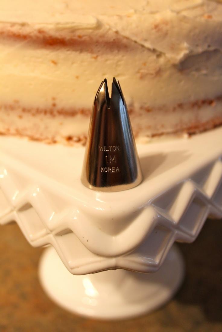 Rosette Cake Tutorial