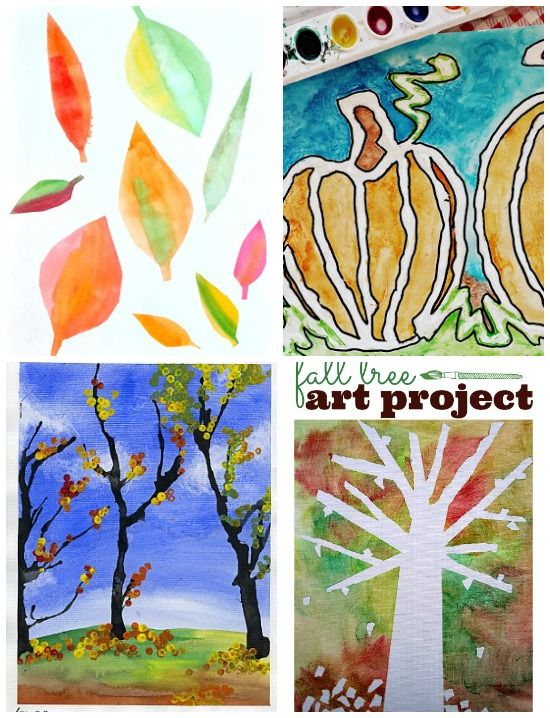 24 Best Fall Art Projects For Kids, Ever! - Tiny Rotten Peanuts