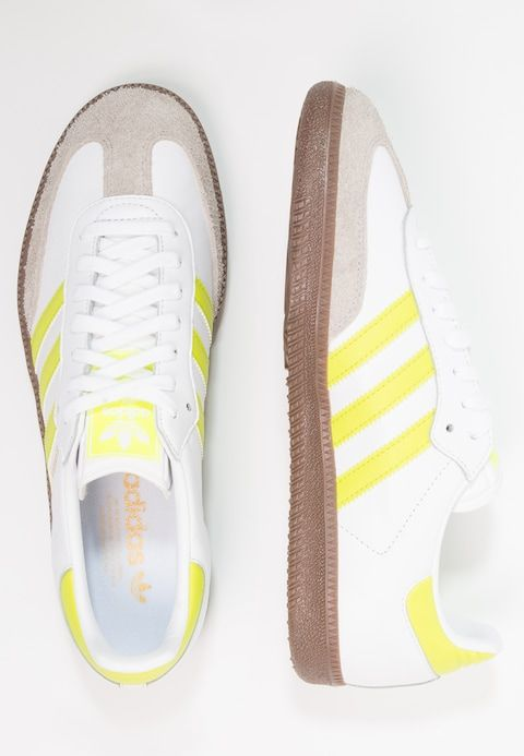 adidas Originals SAMBA - Sneaker low - footwear white/semi ...