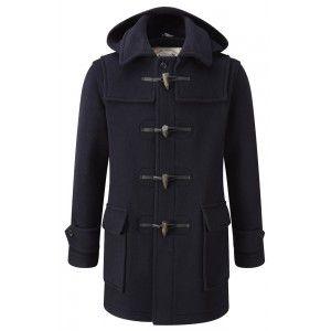 Mens London Duffle Coat -- Navy