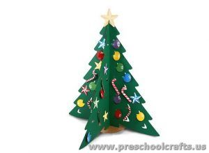 Christmas Tree Crafts For Preschool This Section Has A Lot Of Craft Ideas And Kindergarten Page Includes Funny
