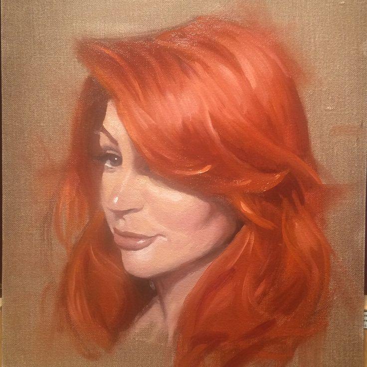 4hr Portrait of Vanessa Lake (model) by Jesus