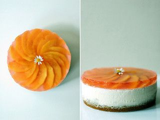 Peach Flavor Chilled Cheesecake | Flickr - Photo Sharing!