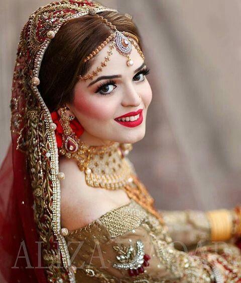 Pin by Sanjana maddela on indian brides | Pakistani bridal ...