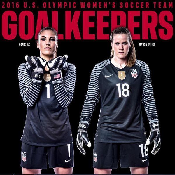 Goalkeepers, 2016 Olympic team. (U.S. Soccer)