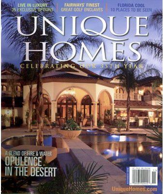 Unique Homes Magazine is a national publication featuring of prestigious, luxury real estate, from western palaces to eastern mansions. The ultimate directory for exclusive, high end properties and the brokers that deal in them. Beautiful photography and exceptional print quality is throughout the magazine. http://www.tripleclicks.com/14818999/detail.php?item=5078