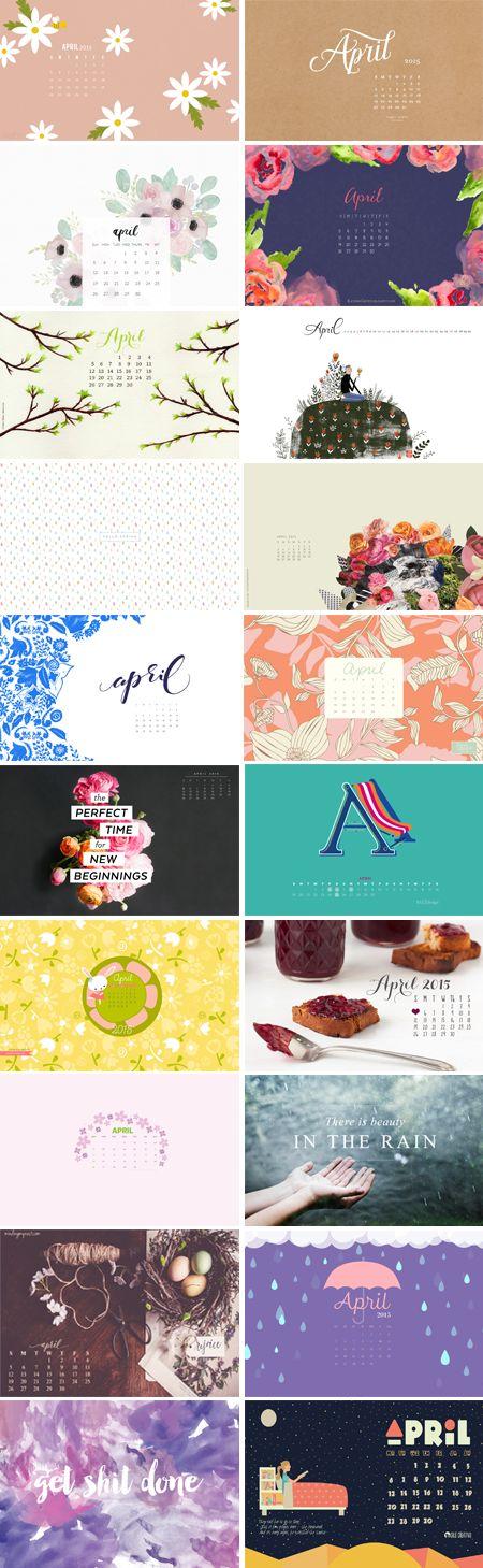 April 2015 – Wallpaper Round-Up