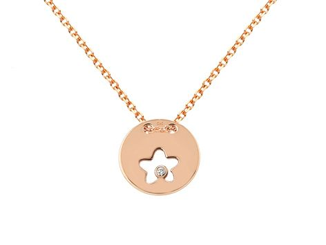 #CadenaconColgante estrella oro 18 Ktes y diamantes #JoséLuisJoyeroBasic