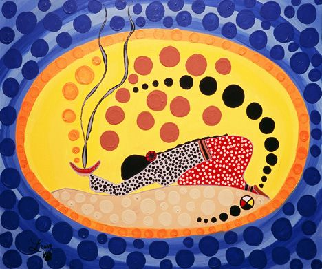 Forgiveness Medicine, 2005  Leah Marie Dorion is a Metis artist raised  in Prince Albert, Saskatchewan.: