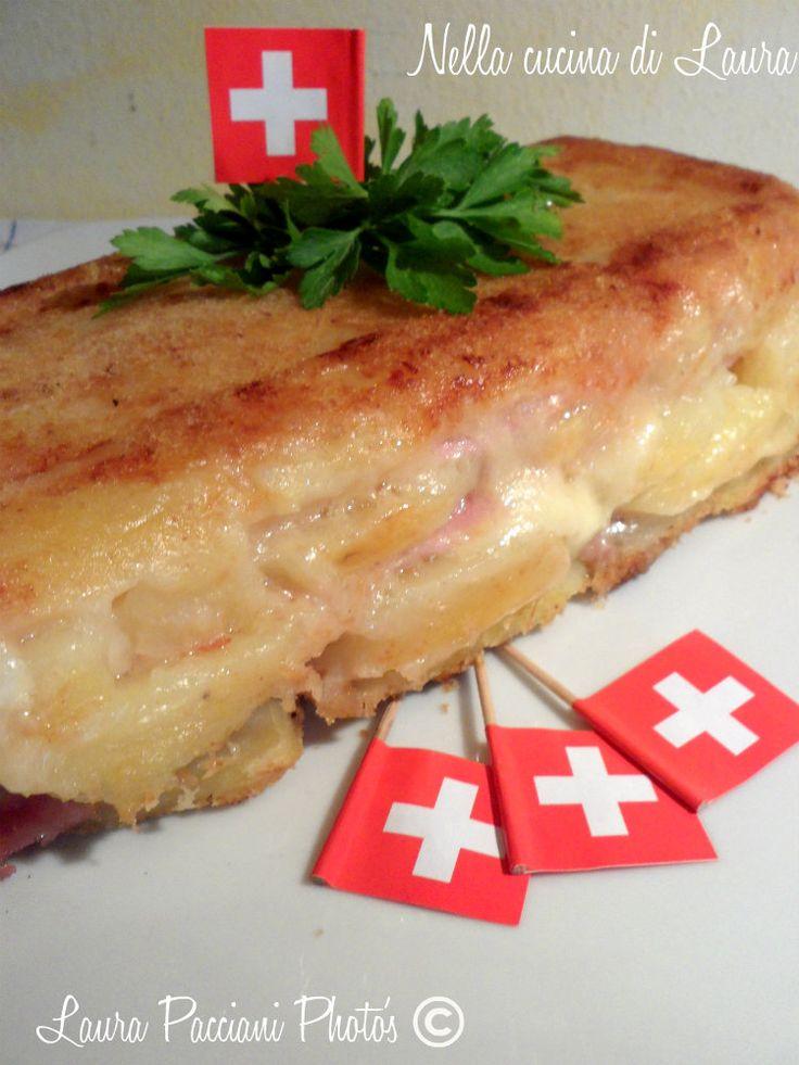 La terrina di patate golosa è un secondo piatto, o anche un piatto unico davvero goloso!!