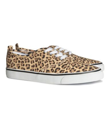 H Amp M Cheetah Print Sneakers Stylish Shoes For Women
