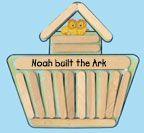 Noah's Ark Preschool Craft Ideas http://daniellesplace.com/html/bible_themes_noah.html