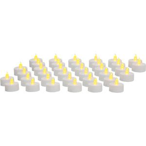 mainstays flameless led tea lights 36 pack led candles tea light. Black Bedroom Furniture Sets. Home Design Ideas