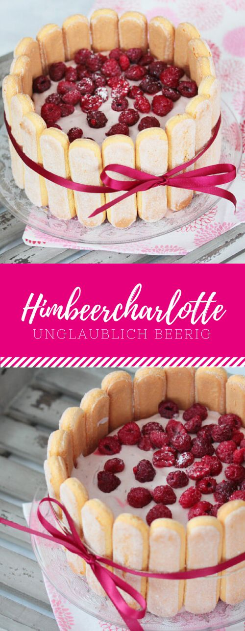 Himbeer Charlotte