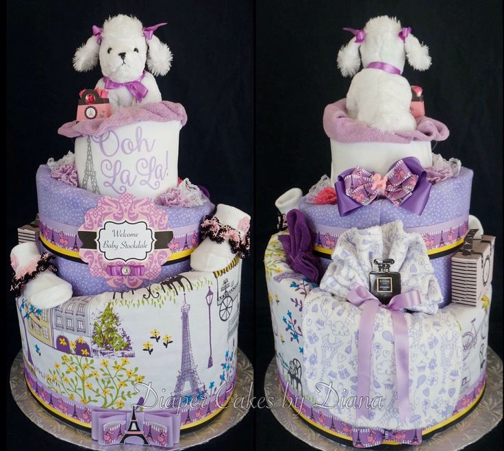 Paris Baby Shower Cake: 345 Best Diaper Cakes Images On Pinterest