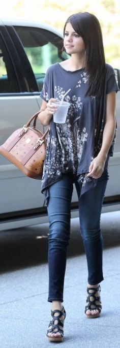 Purse - MCM Shirt - All Saints Jeans - J Brand Same pattern different shirt Same material different purses