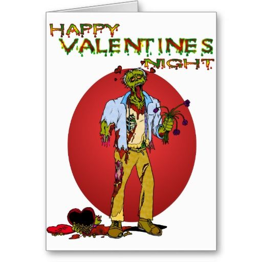 100 ideas to try about Zombie Valentines Day Cards – Zombie Valentines Cards