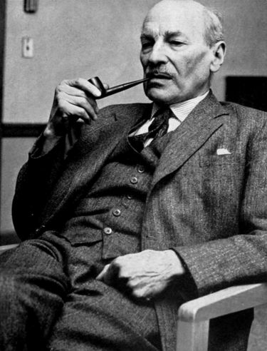 Clement Attlee was Prime Minster untill October1951