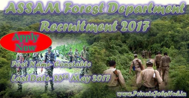 Assam Forest Department is looking talented and well skilled contenders for filling up the 132 AFPF Constable Jobs. In this concern organization has liberated job notification which is ASSAM Forest Department Recruitment. Contenders, who are looking jobs in Assam, now have tremendous opportunity.