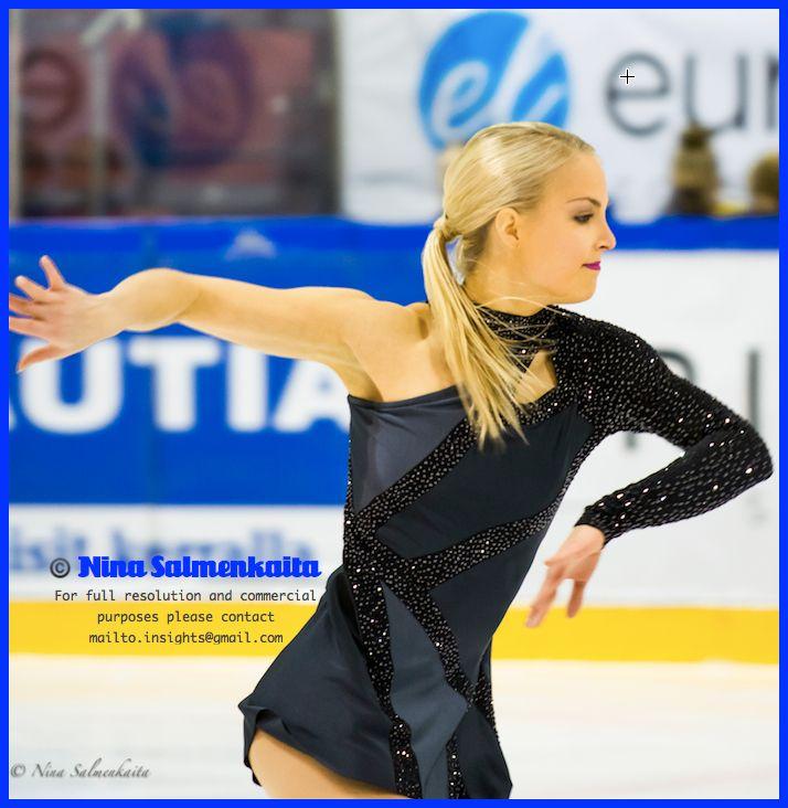Kiira Korpi FIN at Finnish Nationals December 2014
