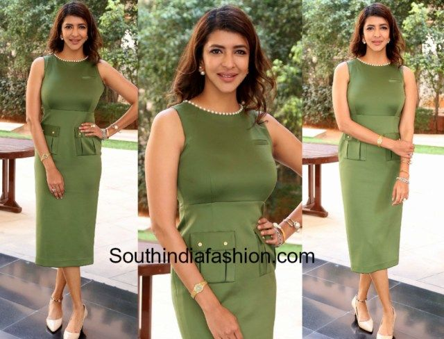 Lakshmi Manchu in Archana Rao   At the Power Breakfast with Women Leaders & Entrepreneurs hosted by FICCI Lakshmi Manchu was seen in a green midi dress by Archana Rao. Nude pumps fromLouise et Cie Dior earrings and Gucci watch rounded out her look!  The post Lakshmi Manchu in Archana Rao appeared first on South India Fashion.  from South India Fashion http://www.southindiafashion.com/2017/11/lakshmi-manchu-archana-rao.html via IFTTT South India Fashion
