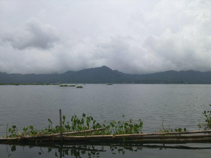 Tondano Lake, Sulawesi Utara, Indonesia