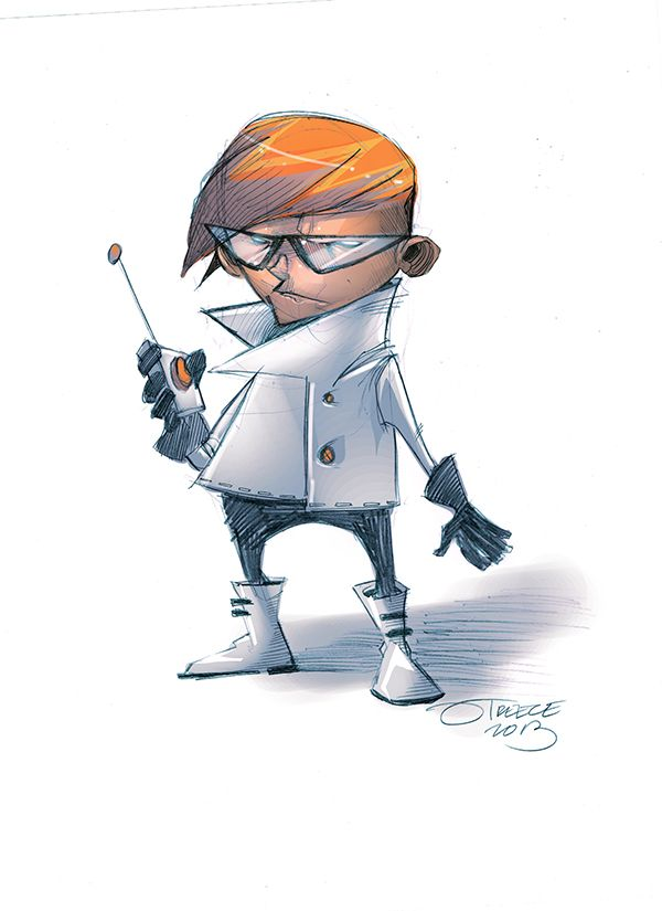 Thunderbird 6 Cartoon Characters : Dexter s laboratory by jeremy treece awesome animation