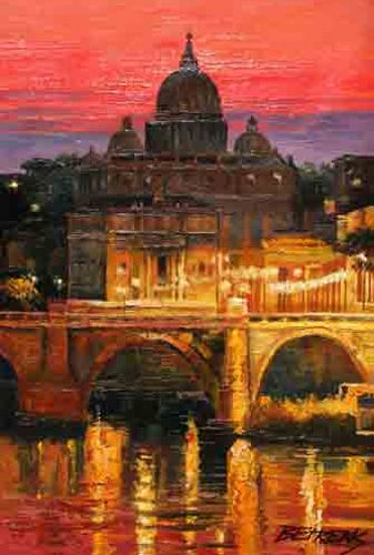 Howard Behrens - Sunset Over St. Peters