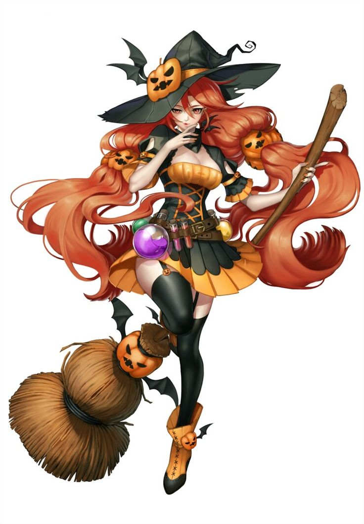 Pin By Leonardo Davis On ⭐gateway Anime Witch Character