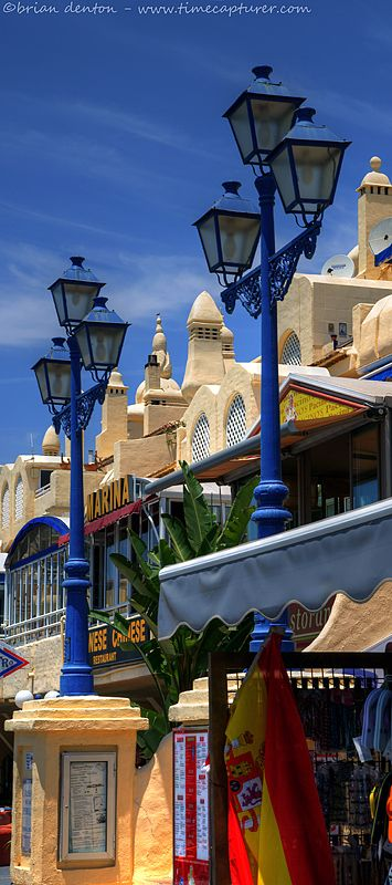 Benalmadena, Malaga, Spain. Been there but it was winter so not really that warm.