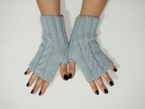 parmaksız eldiven, örme eldiven, nane yeşil, eldiven, eldiven, eldiven Eklendi kadın, noel Kış Aksesuarları, siyah Cuma