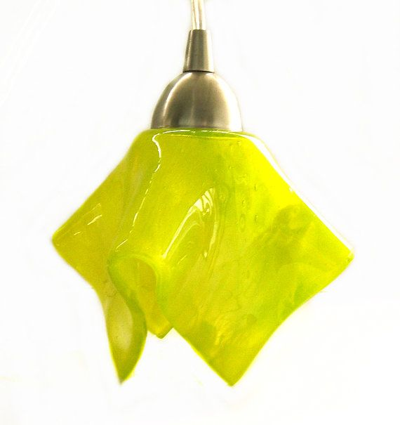 Chartreuse Modern Pendant Light Kitchen Island Lighting