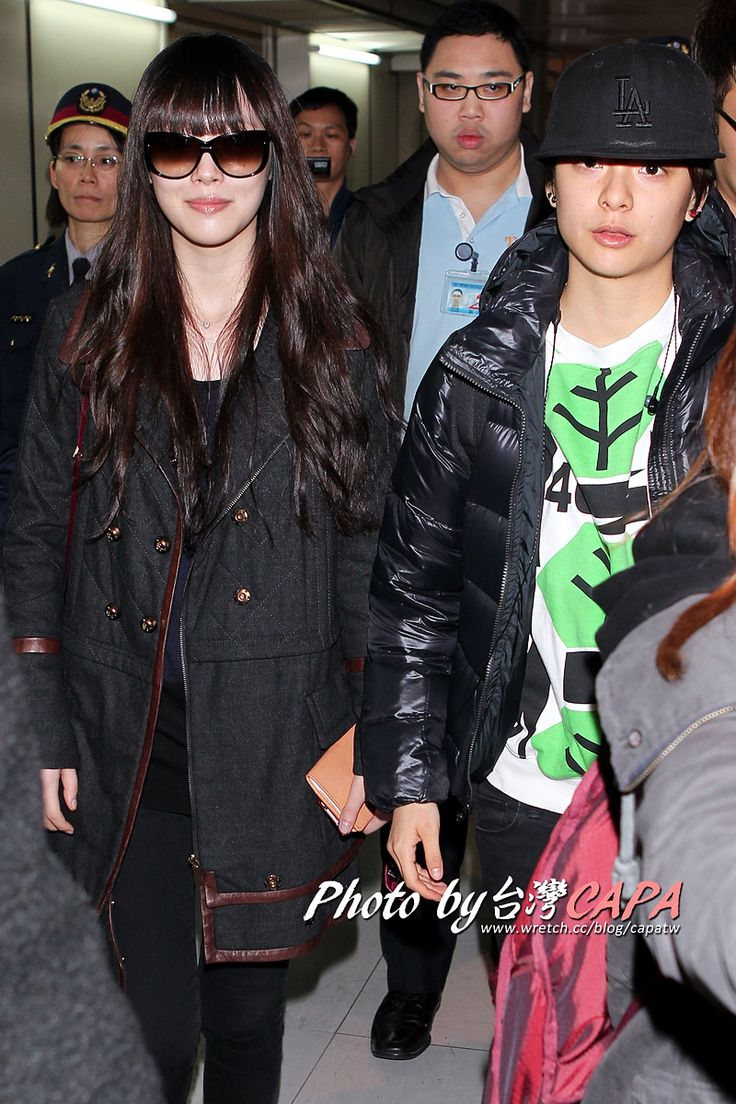 Amber & Sulli di Taoyuan International Airport [13p] | f(x) Indonesia