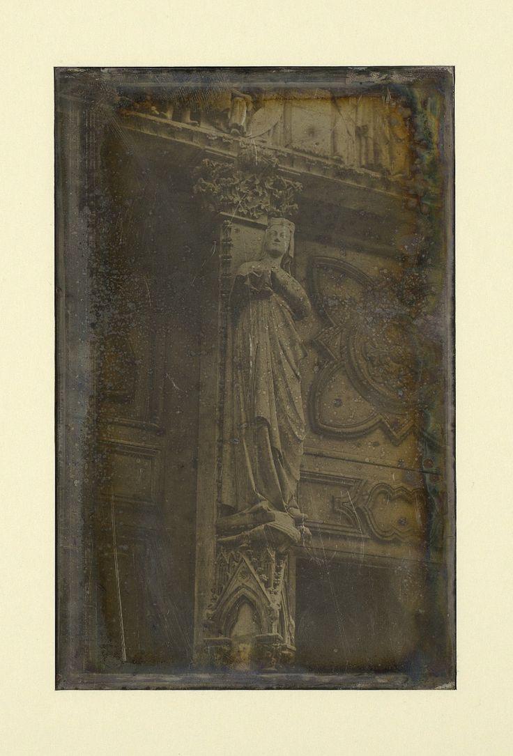 Joseph Prangey - Sculpture, Notre Dame Cathedral in Paris, 1841
