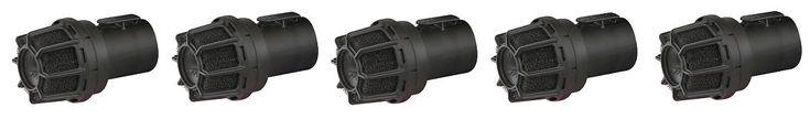 WORKSHOP Wet Dry Vacuum Muffler Diffuser WS25025A 2-1/2-Inch Muffler/Diffuser Shop Vacuum attachment For Shop Vacuums (5-(Pack))