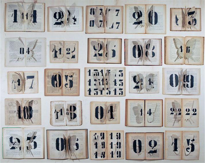 Ekaterina Panikanova's Paintings On Books  