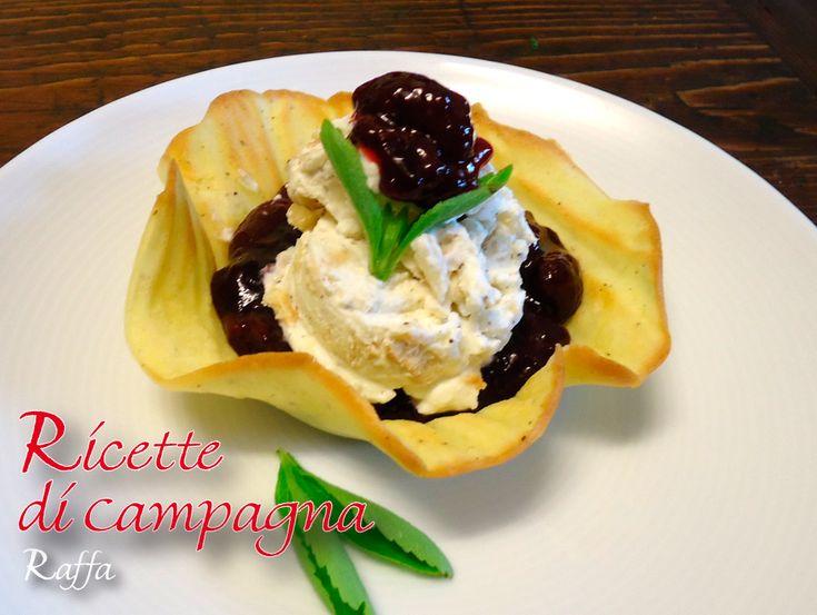Tutti i gelati, le macedonie e i ghiaccioli del blog - cestini stevia cannella