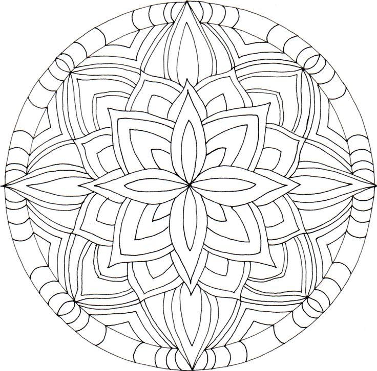 Mandala..potential mosaic pattern idea