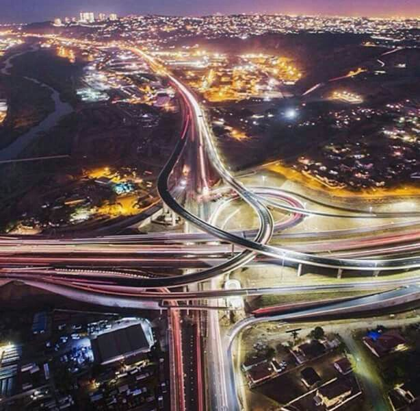 New Umgeni bridge interchange....Springfield/Umhlanga/Westville....Durban