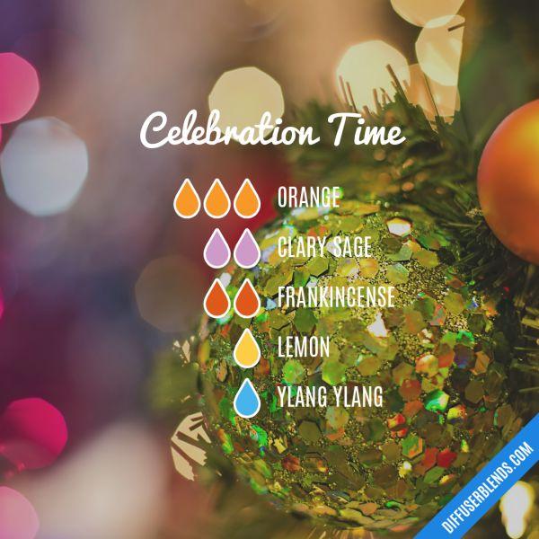 Celebration Time - Essential Oil Diffuser Blend