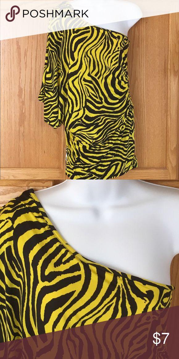 Dress Black & Yellow short dress Dresses Mini