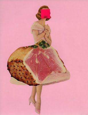 meat collage. Scrapatorium