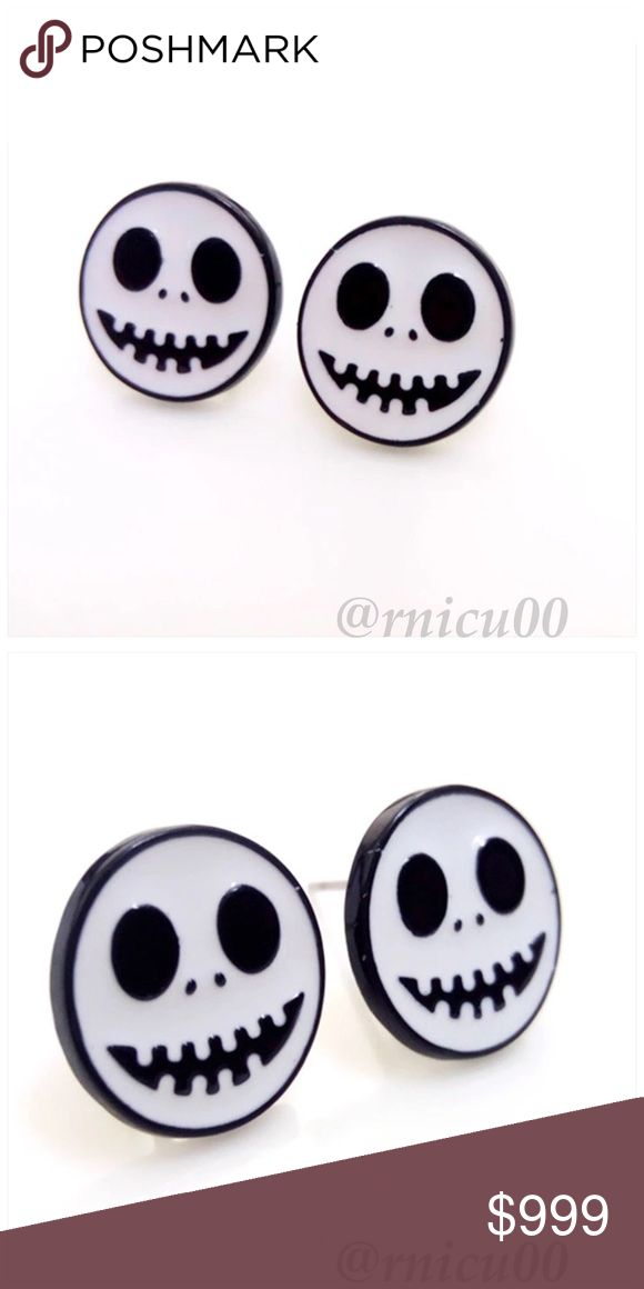 🔜Nightmare Before Christmas Jack Stud Earrings! Coming Soon! Like listing to be notified of arrival!  *NO TRADES *Prices are FIRM-Listed at LOWEST Price Unless BUNDLED! *Sales are Final-Please Read Descriptions! Boutique Jewelry Earrings