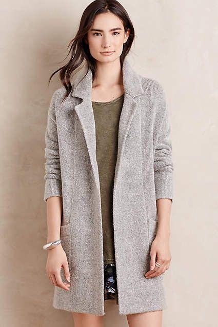 derry sweater coat anthropologiecom womens fashion